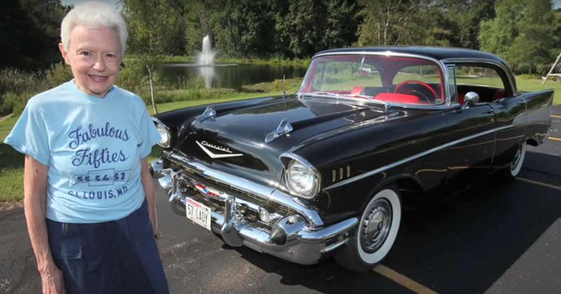 57 Chevy Bel Air - original owner