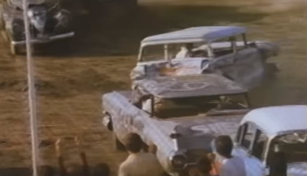 1959 Cadillac - demolition derby
