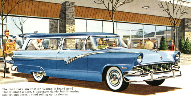 1956 Ford Station Wagons