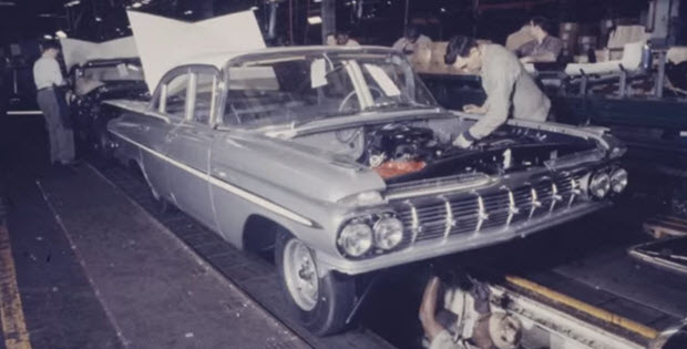 1959 Chevy Assembly Line