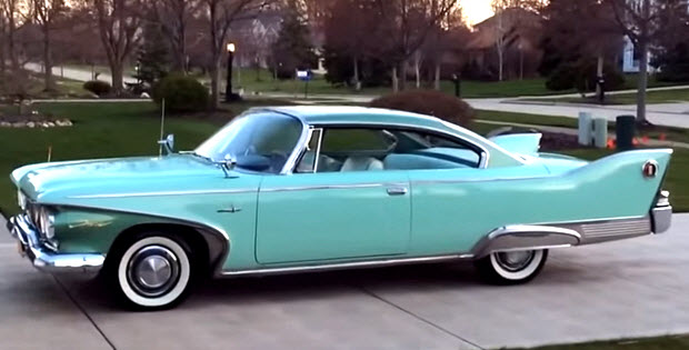 1960 Plymouth Fury With Golden Commando 395 Video Walk
