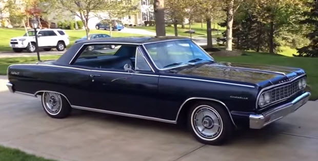 1964 chevrolet chevelle malibu ss video walk around. Black Bedroom Furniture Sets. Home Design Ideas