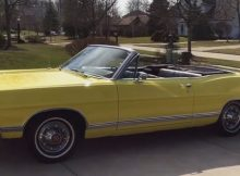 1967 Ford Galaxie 500 Convertible