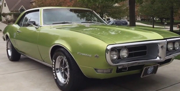 1968 Pontiac Firebird 350 V8 A Video Walk Around
