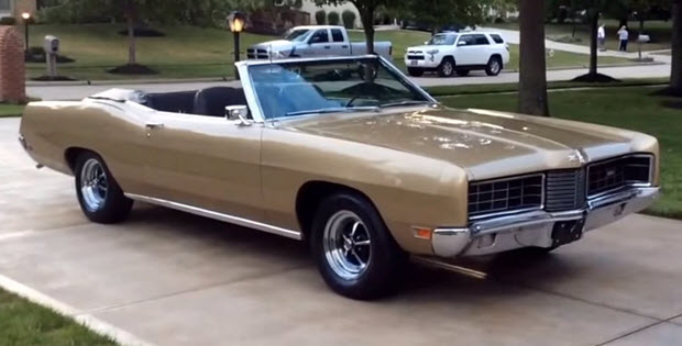 1970 Ford Xl Convertible on pontiac firebird hood