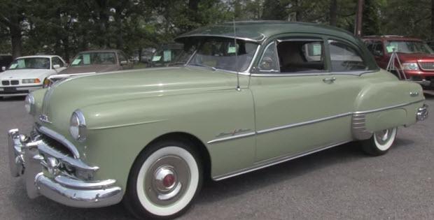 1949 Pontiac Chieftain Deluxe 8 Video Walk Around