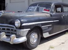 1950 Chrysler Crown Imperial Limo
