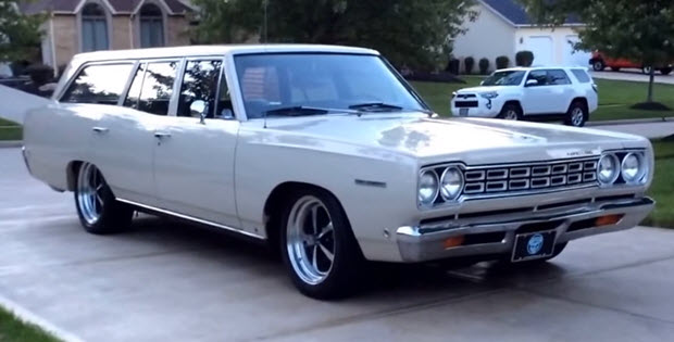 1968 Plymouth Belvedere Station Wagon