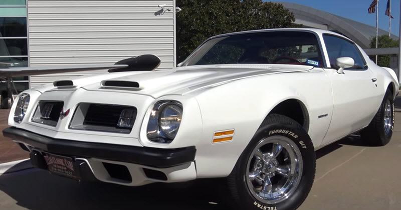 1975 Pontiac Firebird Formula 400 Video Walk Around