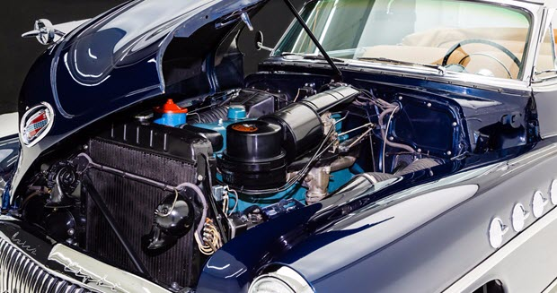 1951 Buick Roadmaster Engine