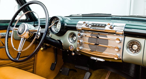 1951 Buick Roadmaster Dash