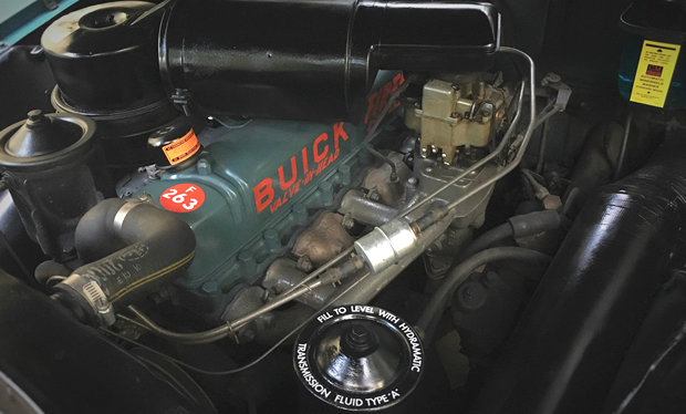 1953 Buick 263ci Fireball Straight 8 engine