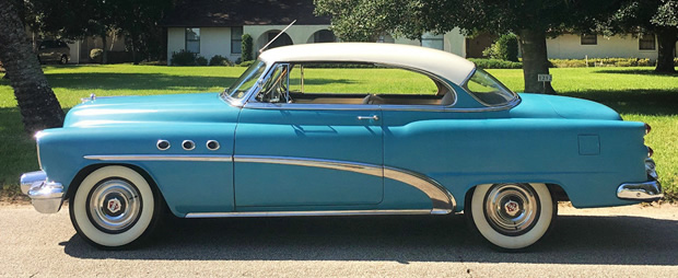 1953 Buick Special side view