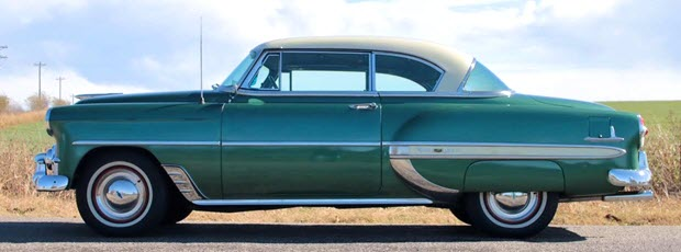 1953 Chevy Bel Air Coupe - side view