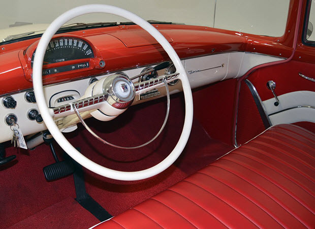 1955 Ford Country Squire Dash