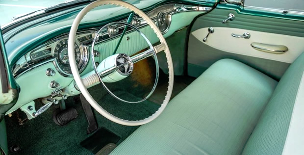 1955 Oldsmobile 88 Interior