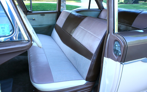 1957 Mercury Monterey Interior