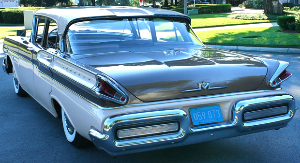 1957 Mercury Monterey Rear