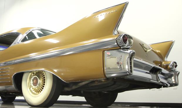 1958 Cadillac Series 62 Coupe Deville A Very Gold Car