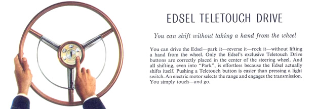 Edsel Teletouch Drive