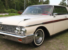 1962 Ford Galaxie 500 2 door Club Victoria