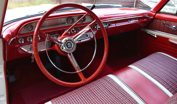 1962 Ford Galaxie 500 Dash