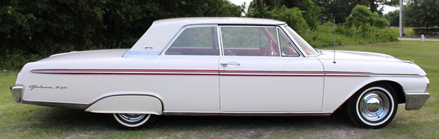 1962 Ford Galaxie 500 side view