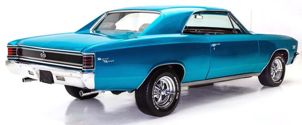1967 Chevrolet Chevelle Ss 396 Correct 138 Vin