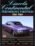 Lincoln Continental 1961-1969 Performance Portfolio Book