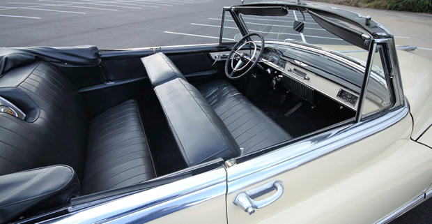 1950 Cadillac Series 62 Convertible painted in Fiesta Ivory