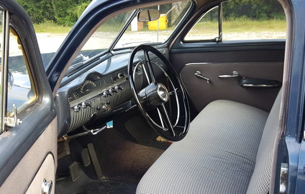 1951 Mercury Interior