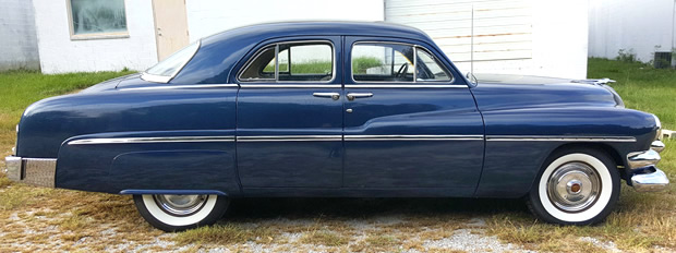 1951 Mercury Sport Sedan - side view