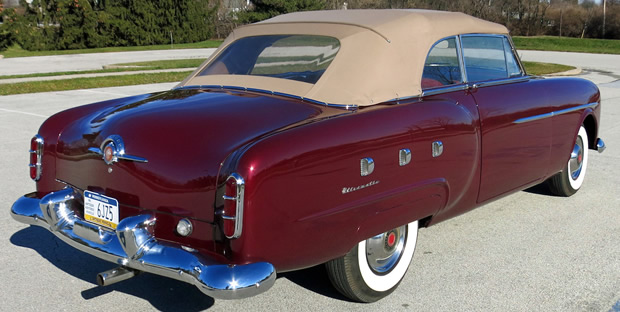 1951 Packard 250 Convertible rear view