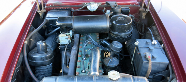 1951 Packard 327 cubic inch straight eight engine