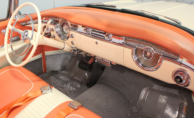 1955 Oldsmobile Ninety-Eight Convertible Interior