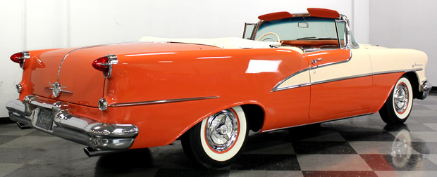 1955 Oldsmobile 98 Convertible Rear
