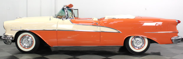 1955 Oldsmobile 98 Convertible - side view