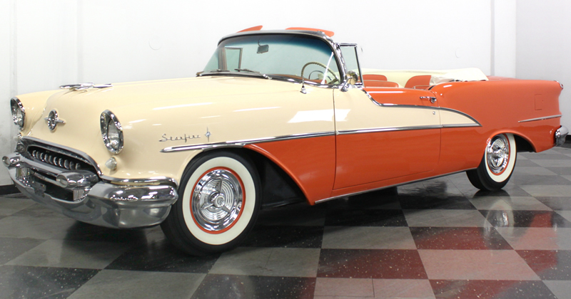 1955 Oldsmobile Ninety-Eight Starfire Convertible