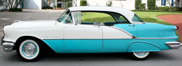 1956 Oldsmobile 88 4-dr Holiday - side view