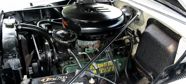 1956 Oldsmoble Rocket 88 324 V8 engine