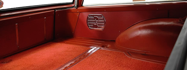 1959 Ford Country Sedan speakers