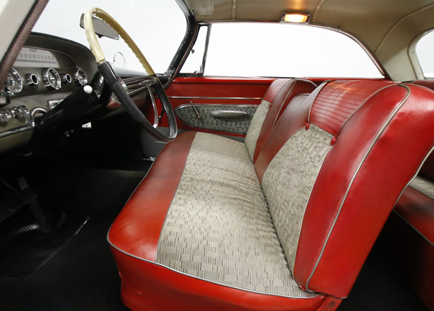 1959 DeSoto Firesweep front bench seat