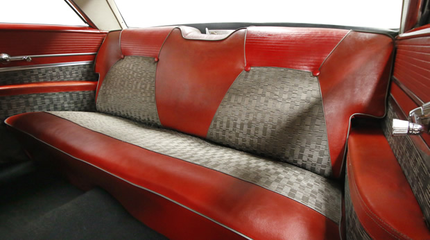 1959 DeSoto Firesweep rear seats