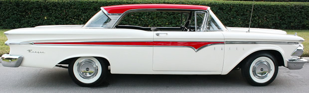 59 Edsel Ranger - side view
