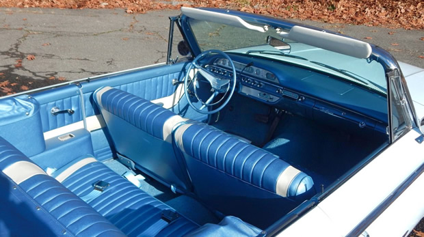 1960 Ford Sunliner Convertible Interior