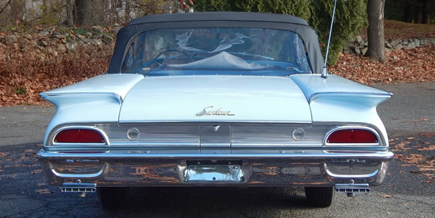 1960 Ford Galaxie Sunliner Rear