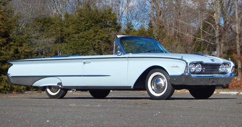 1960 ford galaxie sunliner convertible in skymist blue. Black Bedroom Furniture Sets. Home Design Ideas