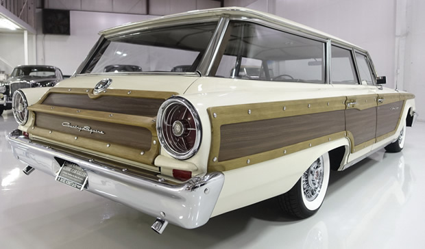 1963 Ford Country Squire Rear View