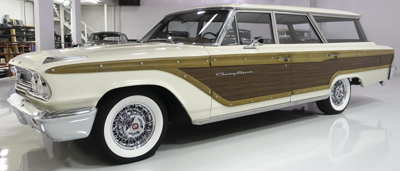 1963 Ford Country Squire side view