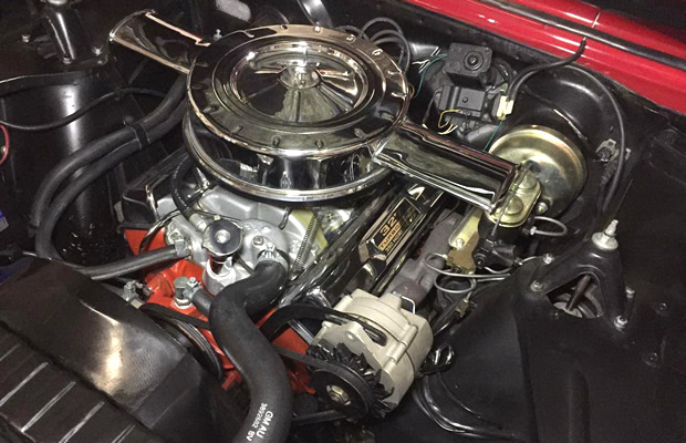 1966 Chevy Nova SS L79 327/350 engine